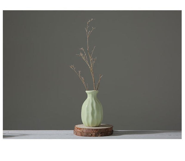 Ceramic Tower Vase For Home Decoration
