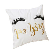 Luxury Love Letters Pillow/ Cushions Case - Perks and Bliss