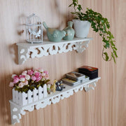 White Wall Hanging Convenient Rack Storage Holder