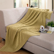 P&B 100% Handmade Knitted Throw