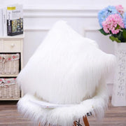 Cilected Soft Plush Two Sides  Faux Fur Cushion/ Throw Pillow Cover - Perks and Bliss