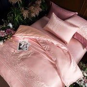Luxury Silk Embroidery Bedding Set