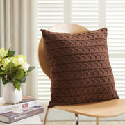 P&B Knitted Vintage Pillows Case