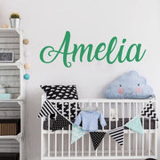 P&B Personalised Name Wall Sticker