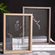 HD Decorative Glass Specimen Photo Frame