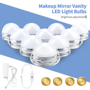 DIY Hollywood Style Makeup Mirror Dimmer-able Led Light Kit