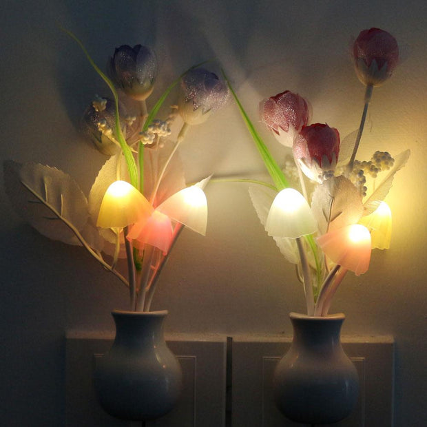 P&B Plug In Flower Lamp
