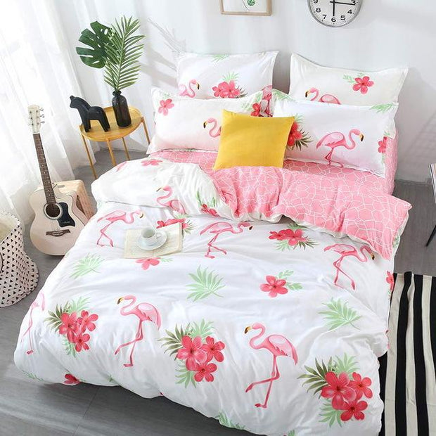 Super Soft Retro Bed Set
