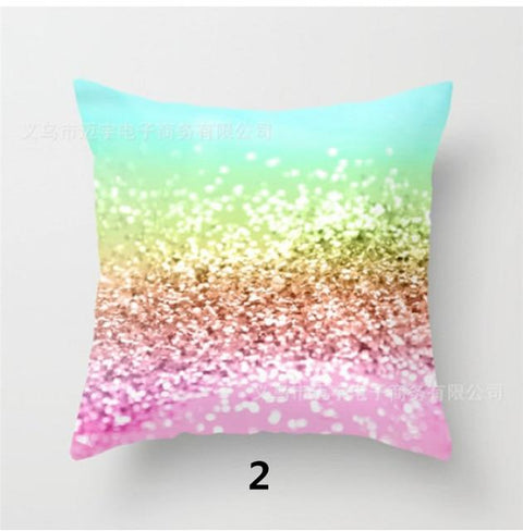 Soft Luxury Fluffy Velvet Bright Color Throw Pillow/ Cushion Cover - Perks and Bliss