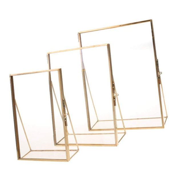 P&B Simplistic Transparent Glass Photo Frame