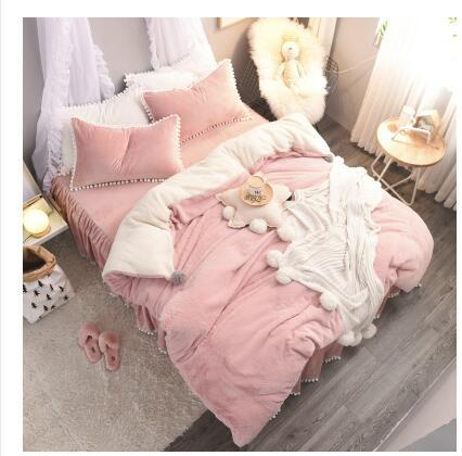 P&B Luxury Cashmere Velvet Bedding Set
