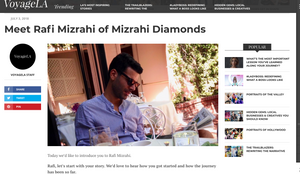 Voyage LA x Mizrahi Diamonds