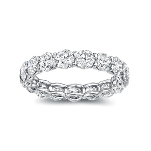 U-Shape Eternity Band