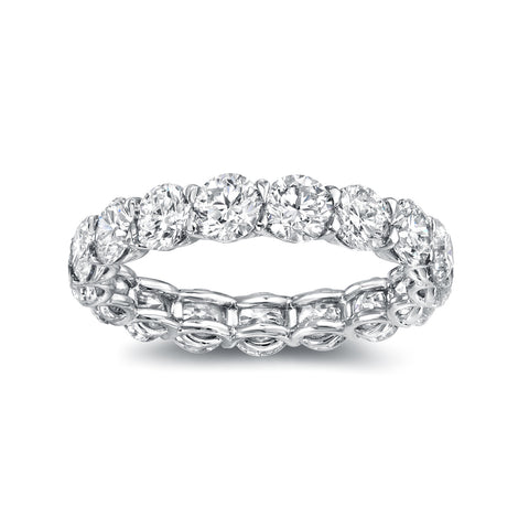 U-Shape Eternity Band 3.75 Carat