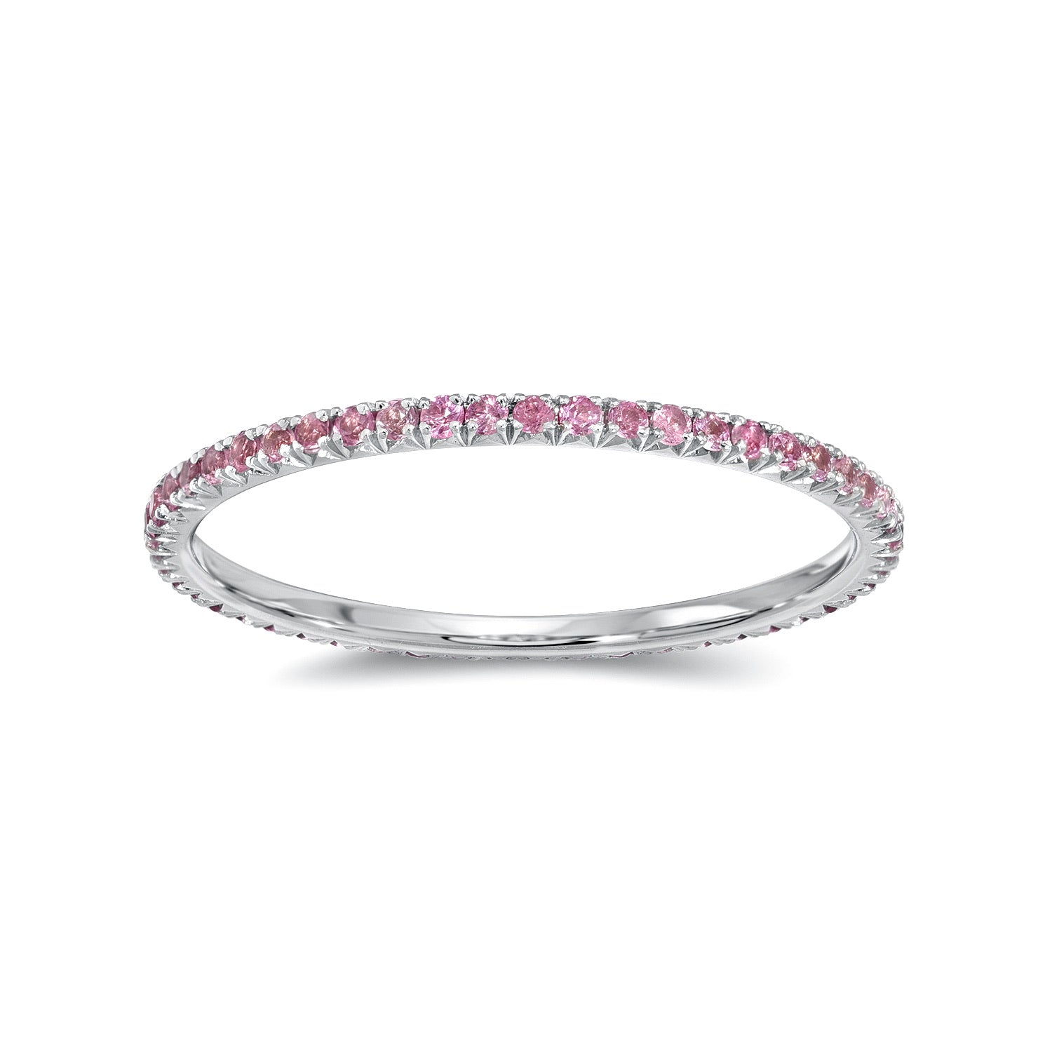 Stackable rings, eternity bands
