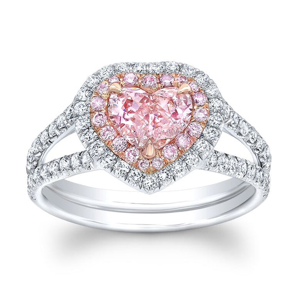 1.42 Carat Pink Diamond Ring - Mizrahi Diamonds