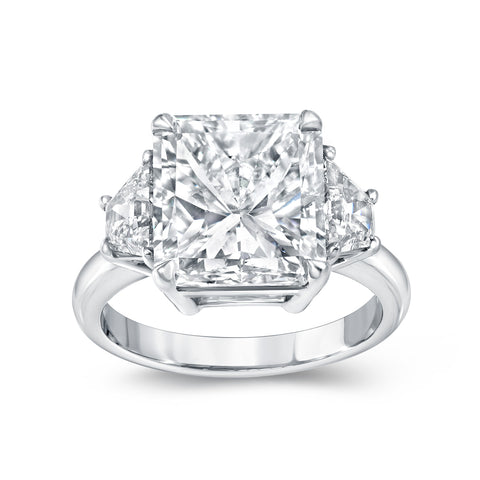 5.60 ct. Radiant Diamond Ring