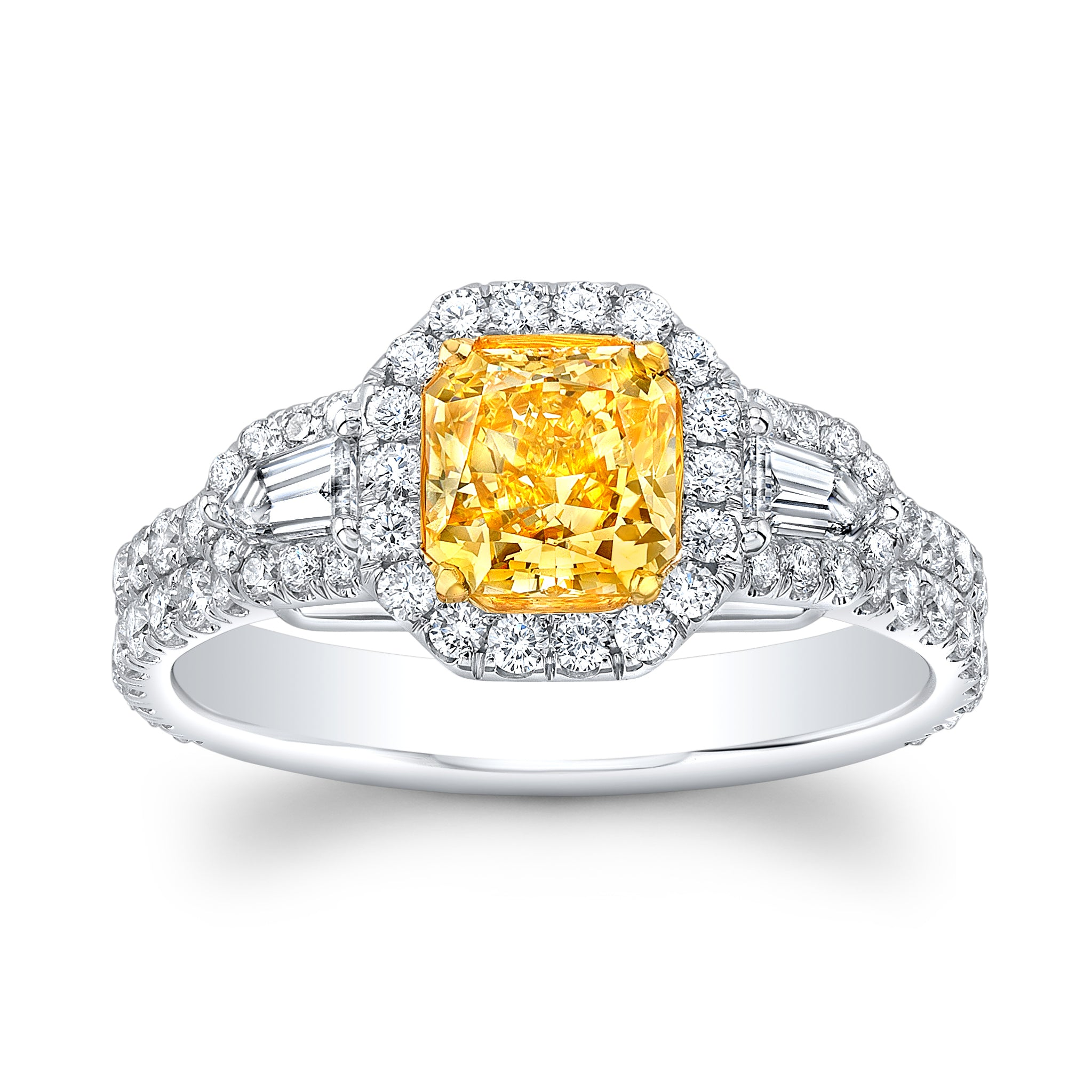 Fancy Intense Yellow GIA Diamond