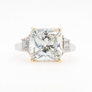5 Ct. Cushion Cut Diamond Ring GIA