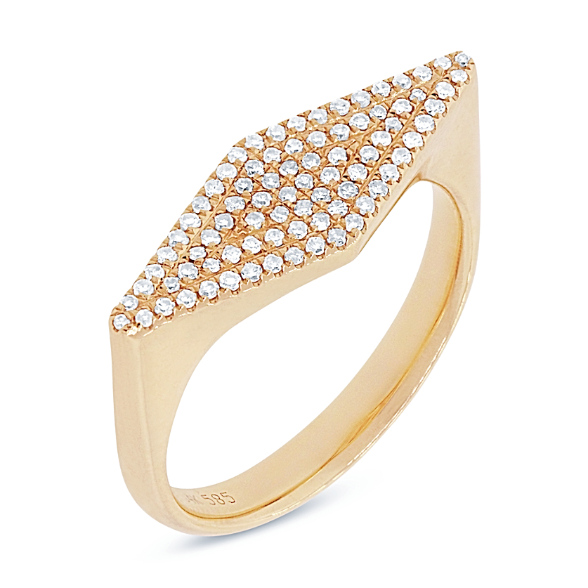 Kite Diamond Ring - Mizrahi Diamonds