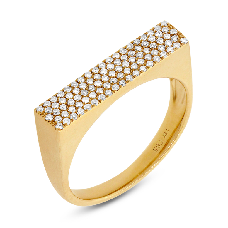 Paloma Diamond Ring - Mizrahi Diamonds