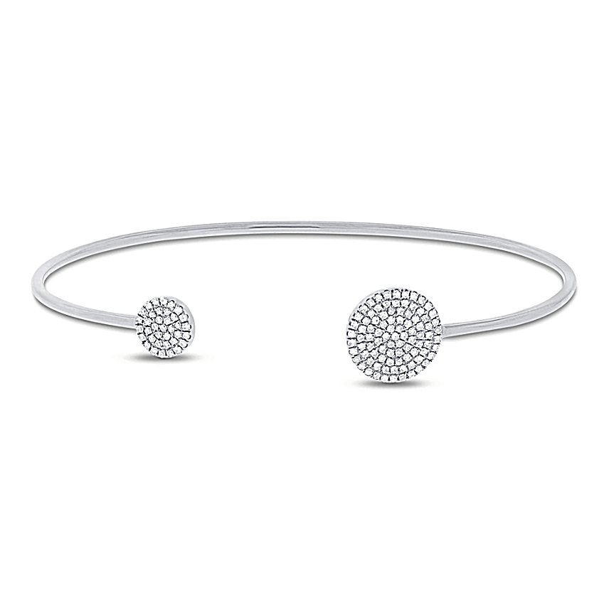 Galaxy Diamond Bangle - Mizrahi Diamonds