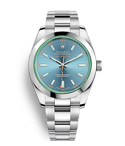 Rolex Milgauss Blue Dial - Mizrahi Diamonds