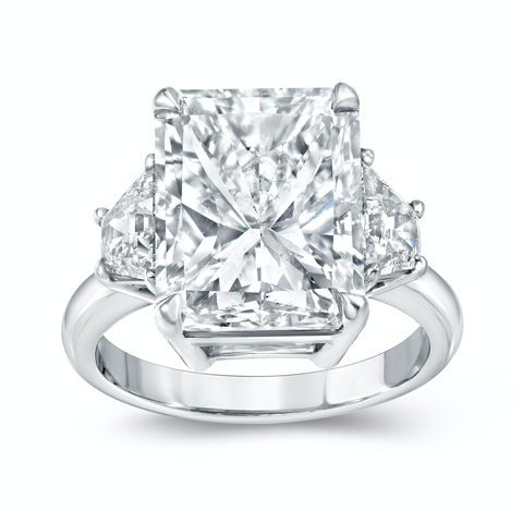 5.81 ct. Radiant Diamond Ring