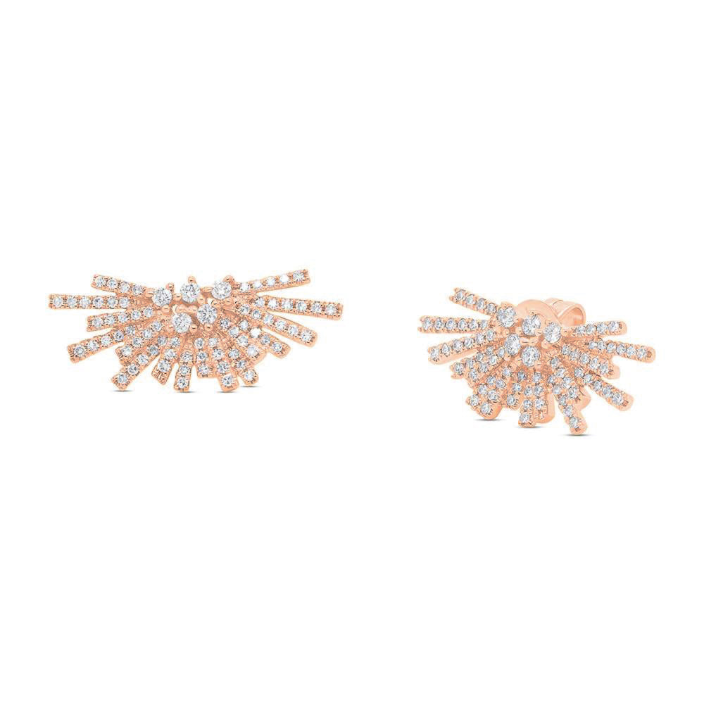 Sunset Diamond Earring