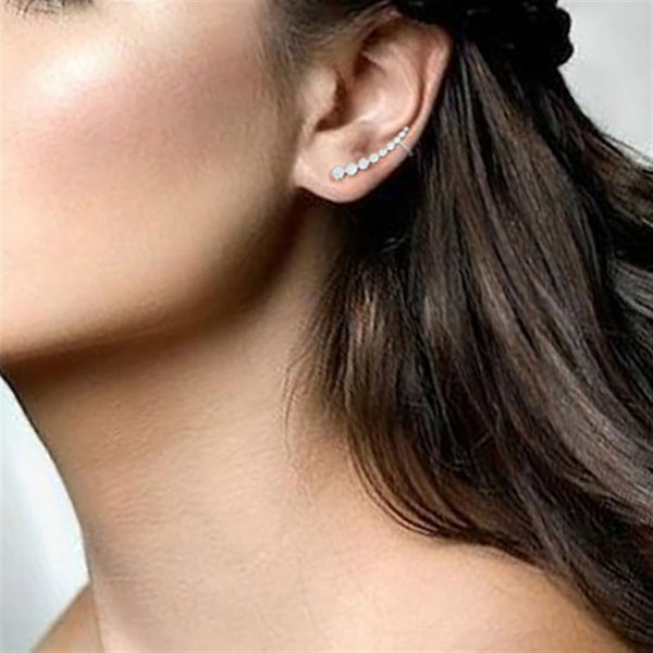 Nimbus Ear Crawler Earrings