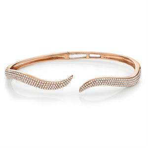 Wave Diamond Bracelet
