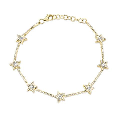 Star Diamond Bracelet
