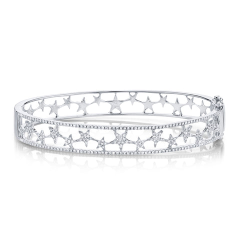 Star Chain Diamond Bracelet