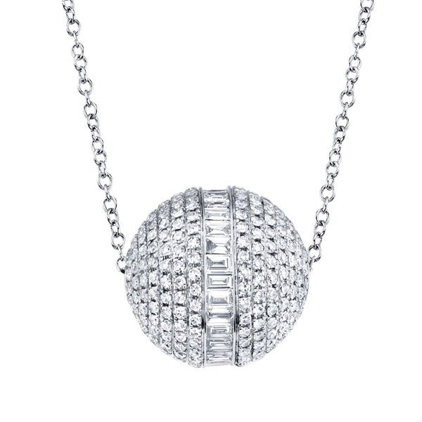 Barrel Diamond Necklace
