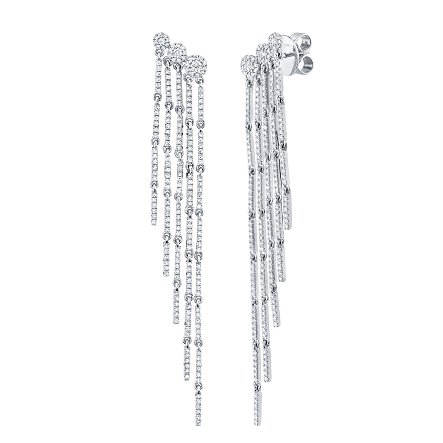 Fringe diamond Earrings