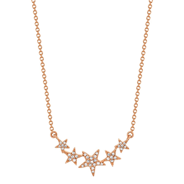 Star chain Diamond Necklace