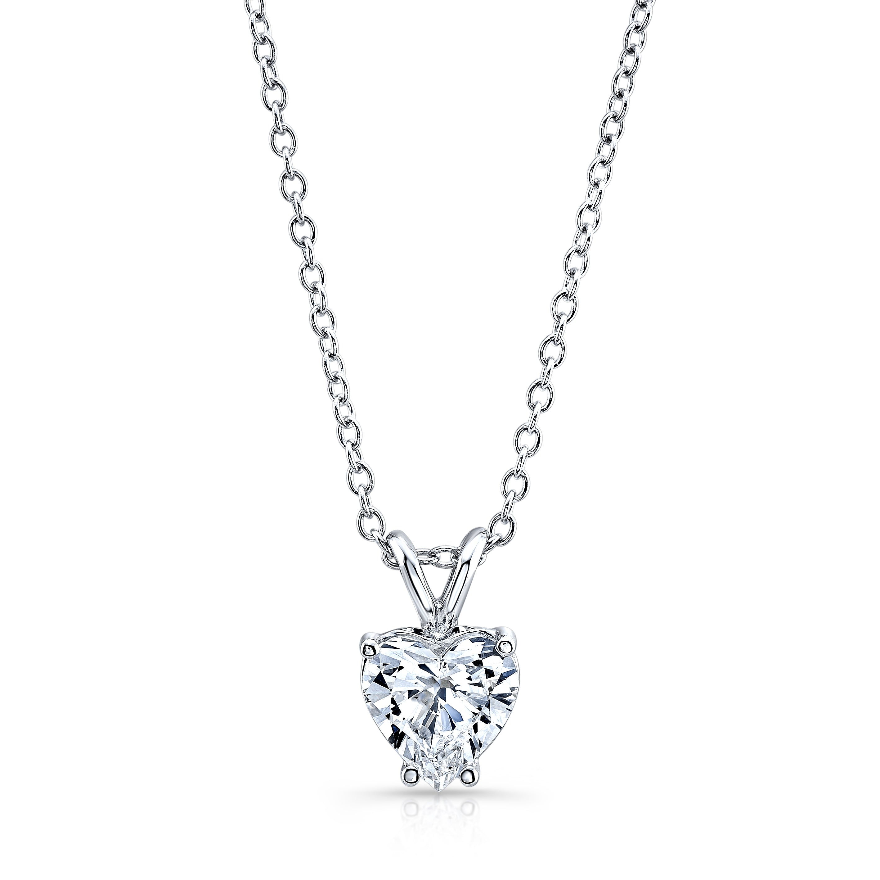 diamond deco pendant necklace art platinum