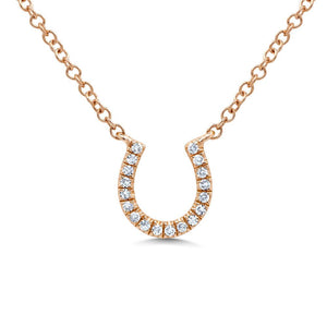 Horseshoe Pendant - Mizrahi Diamonds