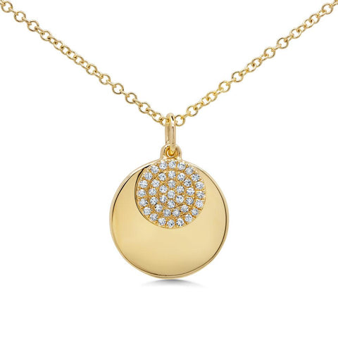 The Moon Necklace - Mizrahi Diamonds