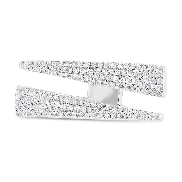 Double band diamond ring - Mizrahi Diamonds