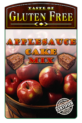 Taste Gluten Free Apple Sauce Cake Mix