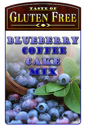 Taste Gluten Free Blueberry Coffee Cake Mix