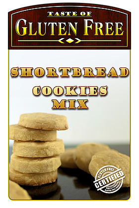 Taste Gluten Free Shortbread Cookies Mix