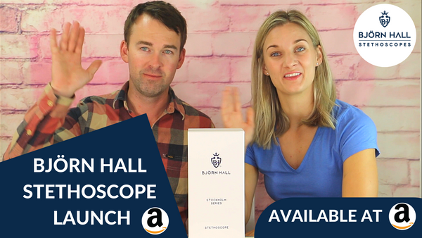 Bjorn Hall Stethoscope Product Launch
