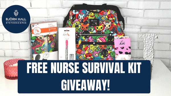 Free Giveaway Nurse Survival Kit