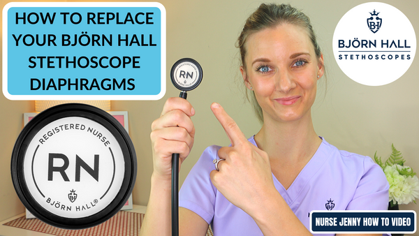 How to Change the Diaphragms: Björn Hall RN Design Personalized Stethoscope