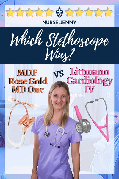 Littmann Cardiology IV Stethoscope vs MDF 777 MD One Stethoscope