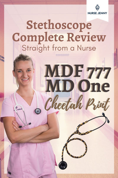 MDF 777 MD One Cheetah Print Stethoscope Review