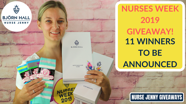 Nurses Week 2019 Giveaway! 11 Winners To Be Announced