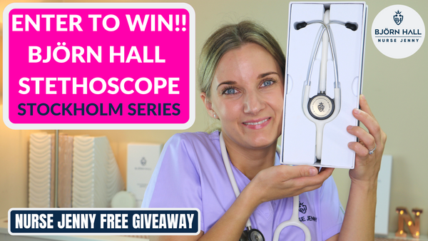 Björn Hall Stethoscope Giveaway